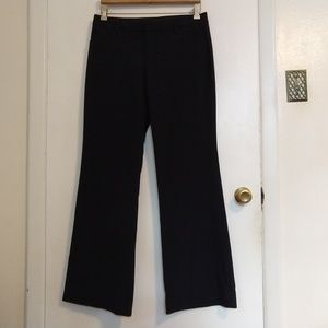 Gap Perfect Trouser Navy Blue Pinstripe Pants 4R
